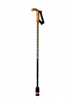 Flexyfoot folding walking stick - CORK
