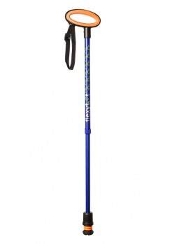 Flexyfoot Walking Stick (Blue)