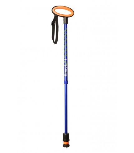 Flexyfoot Walking Stick (Blue)